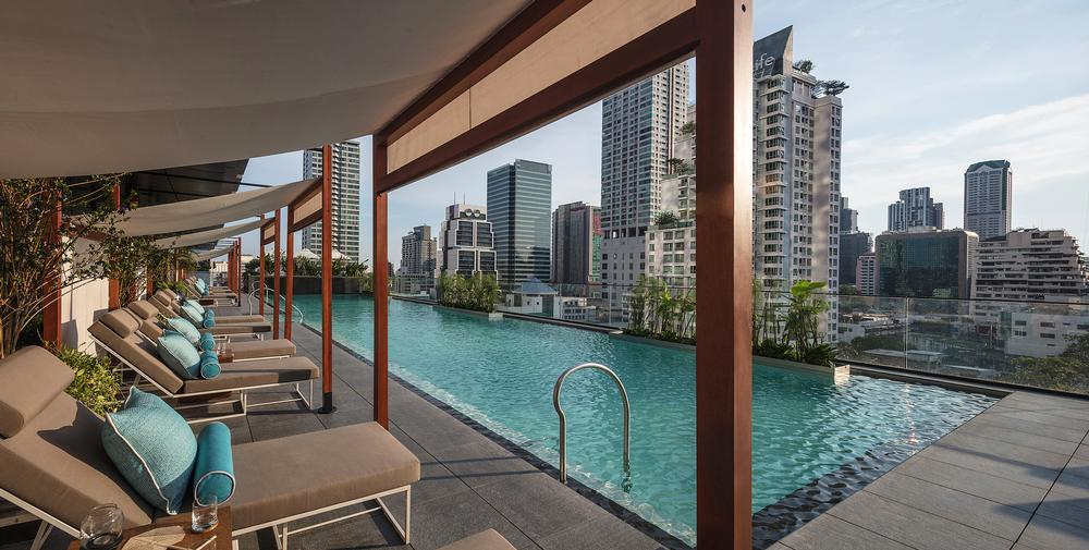 DCS have designed the leisure facilities for the Ritz-Carlton Residences at MahaNakhon, Bangkok