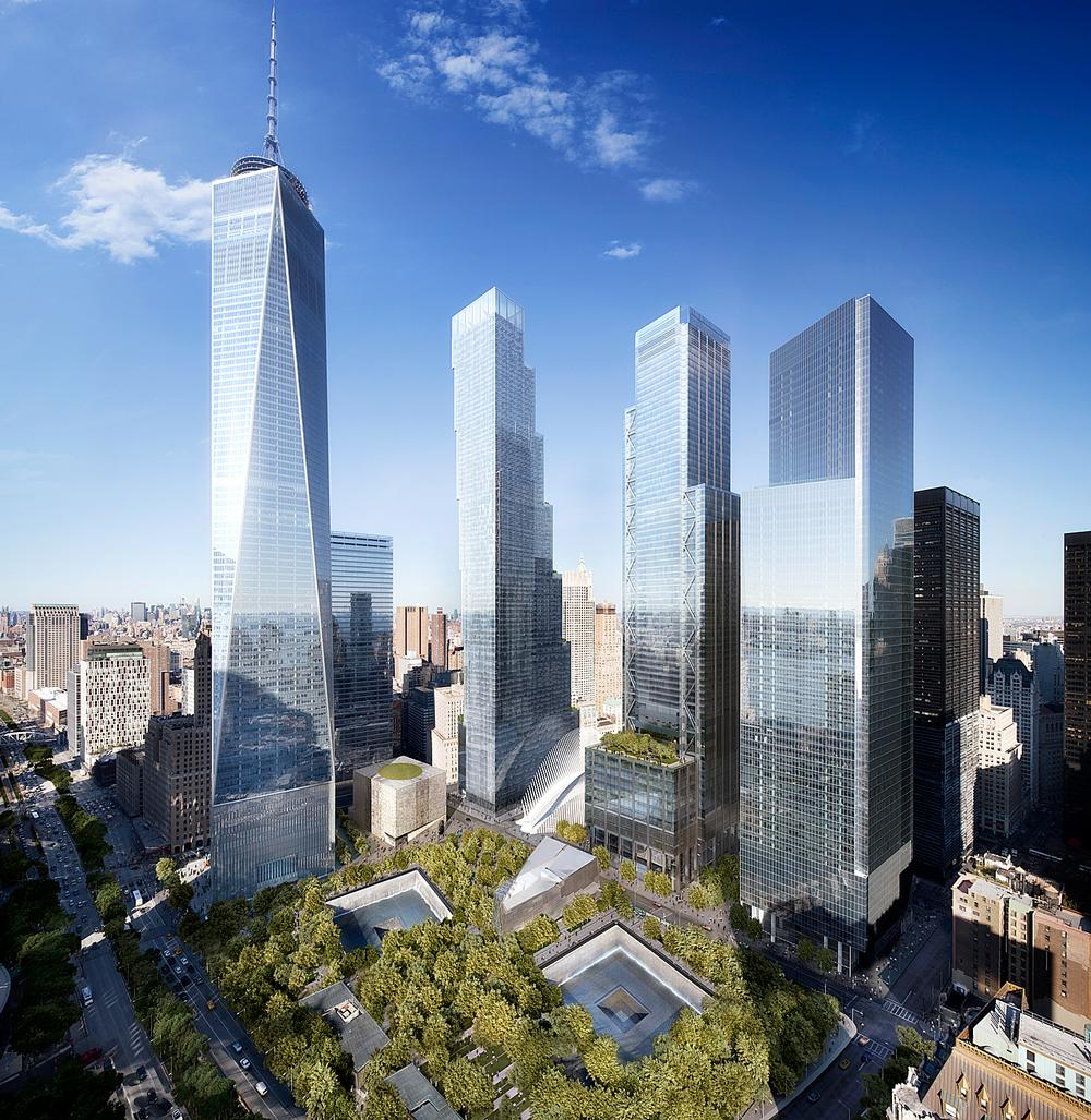 Studio Libeskind's vision for Ground Zero balanced the need to mark the tragedy with the need for a vibrant urban district