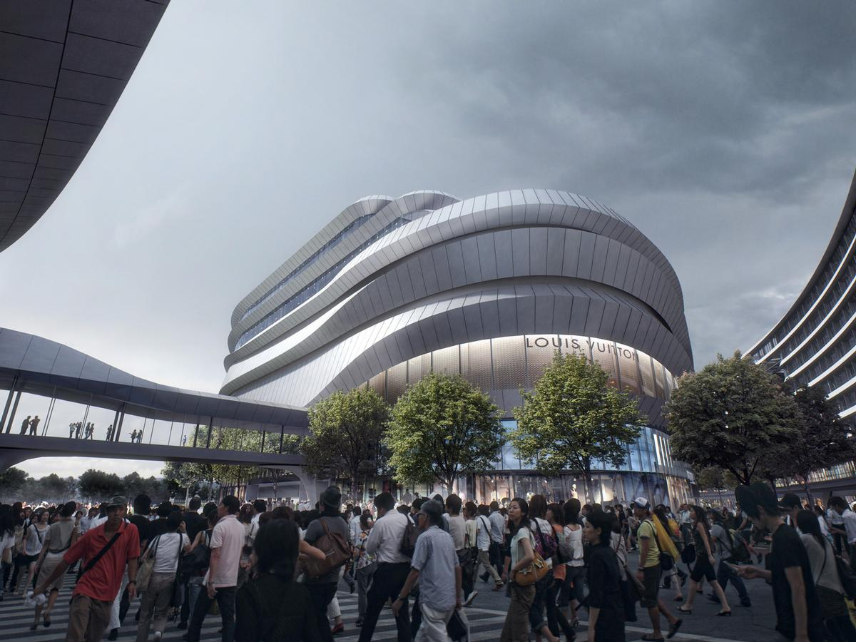 The Hongqiao World Centre Which Opens In 2016 Will Be A Major Mixed