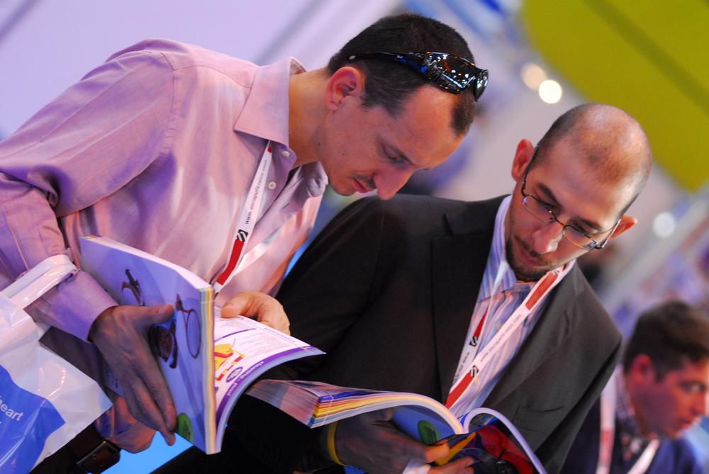 This year, attendees can pre-book meetings