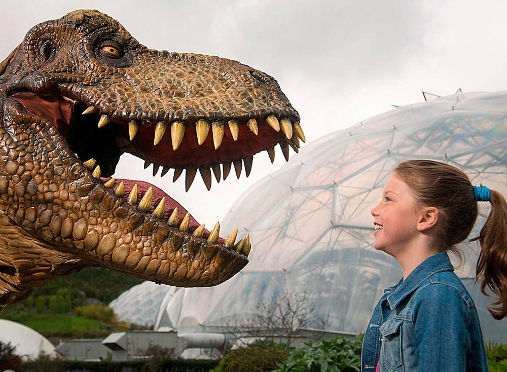 Eden's Dinosaurs Unleashed / photo: JAMES RAM, THE EDEN PROJECT