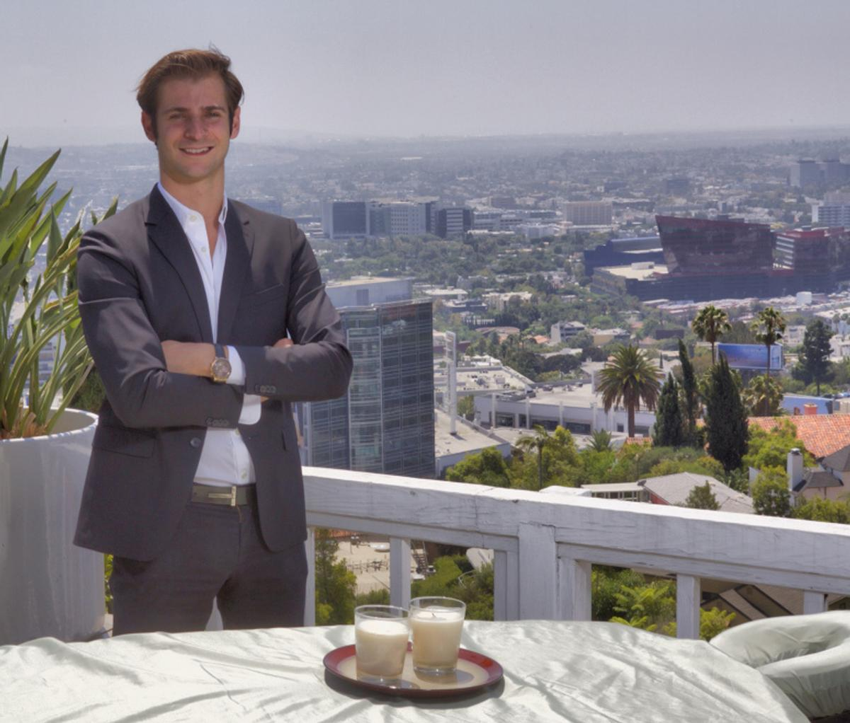 Soothe founder Merlin Kauffman