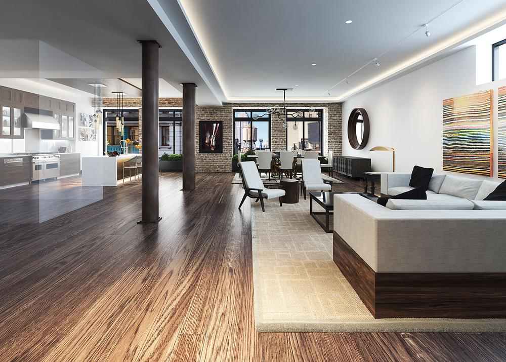 The 66 East 11th Street residences in New York offer 50 amenities dedicated to improving human health. It's been reported that DiCaprio owns of one of them