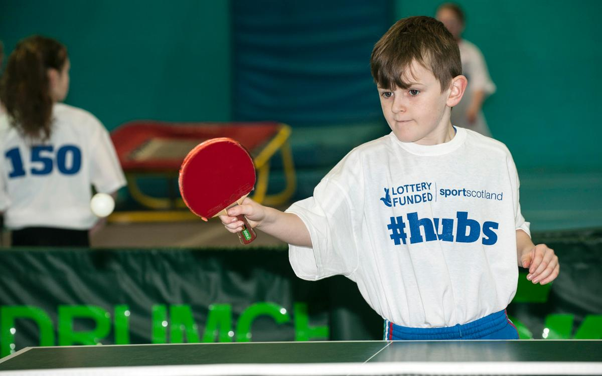 The hubs were described as an 'innovative' approach to the development of sport by sports minister Jamie Hepburn