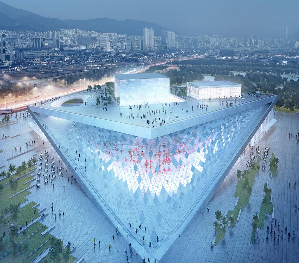 Snøhetta is designing the Busan Opera House for Busan, South Korea