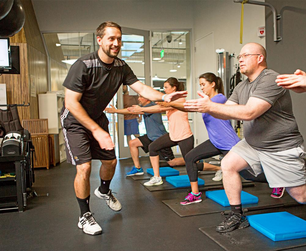 EXOS exercise professionals deliver wellness services for corporates