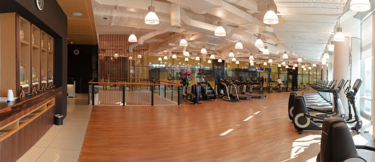 This is the first Kerry Sports to be built inside a Shangri-La Hotel