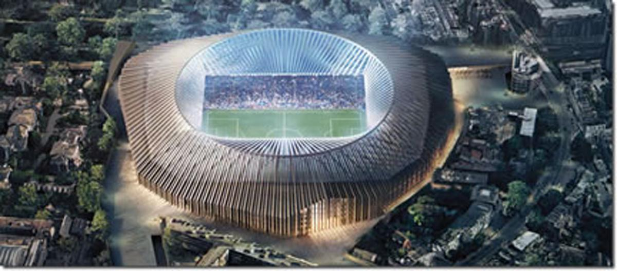 The 60,000-seater stadium will include a shop, museum and restaurant / Herzog & de Meuron