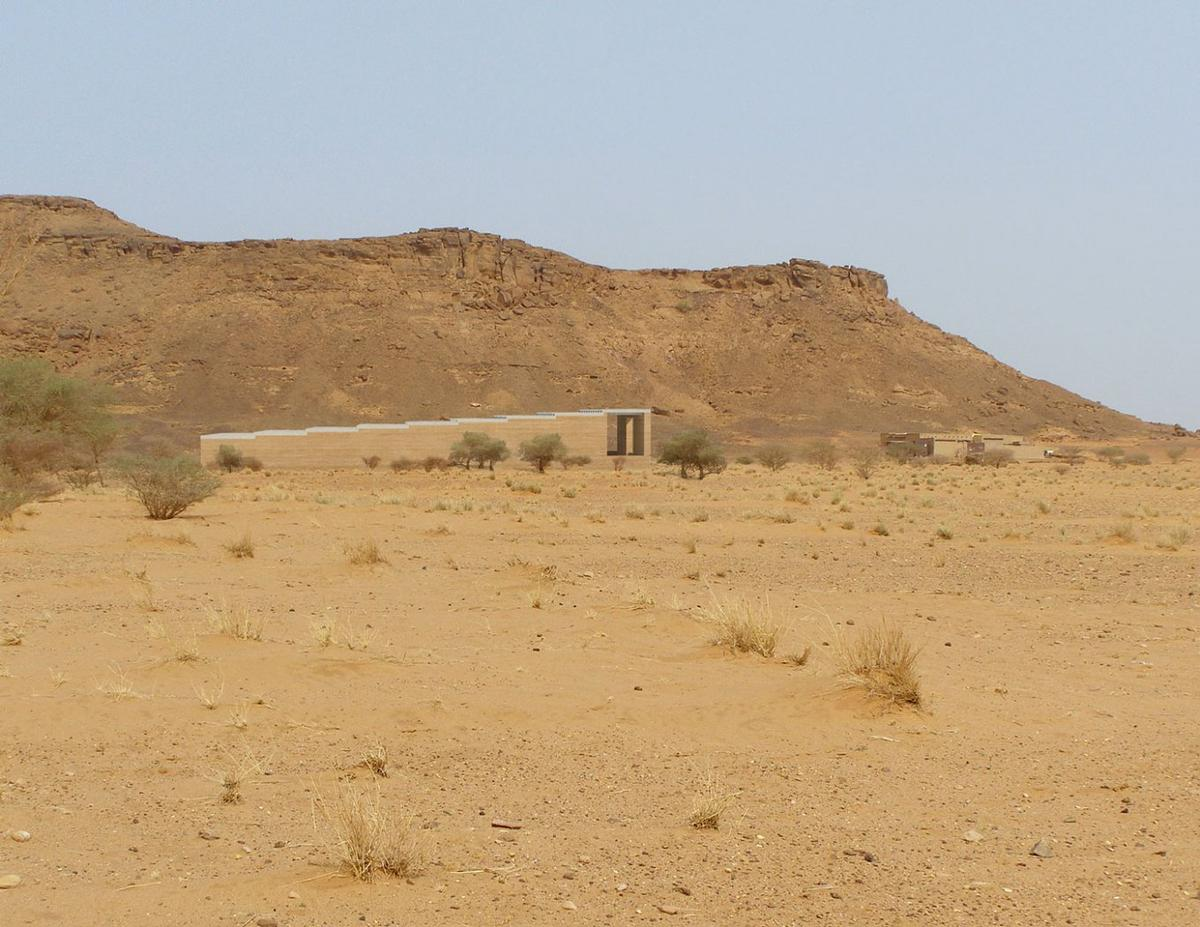 The museum is located on a highly remote and culturally sensitive site / David Chipperfield Architects