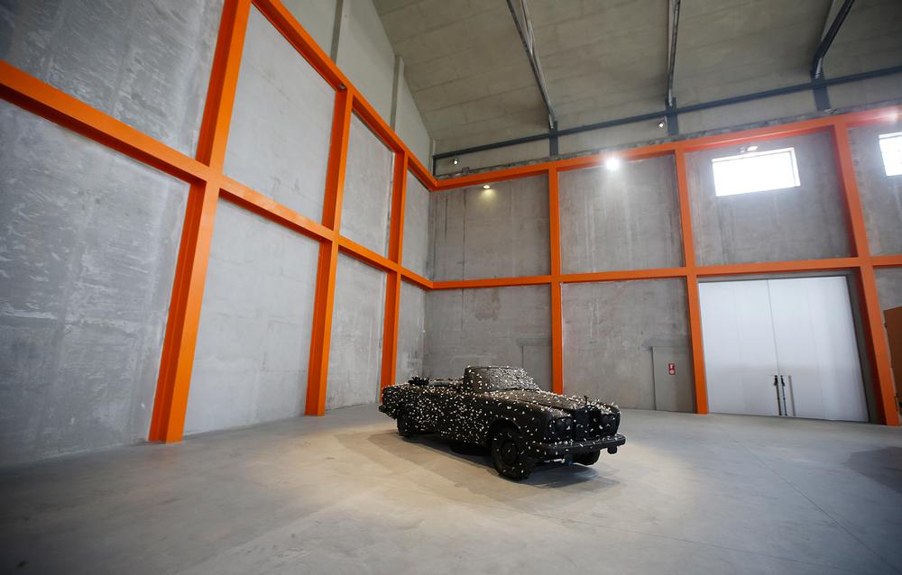 The Serial Classic exhibit includes a collection of cars reworked by a variety of artists / Luca Bruno/AP/Press Association