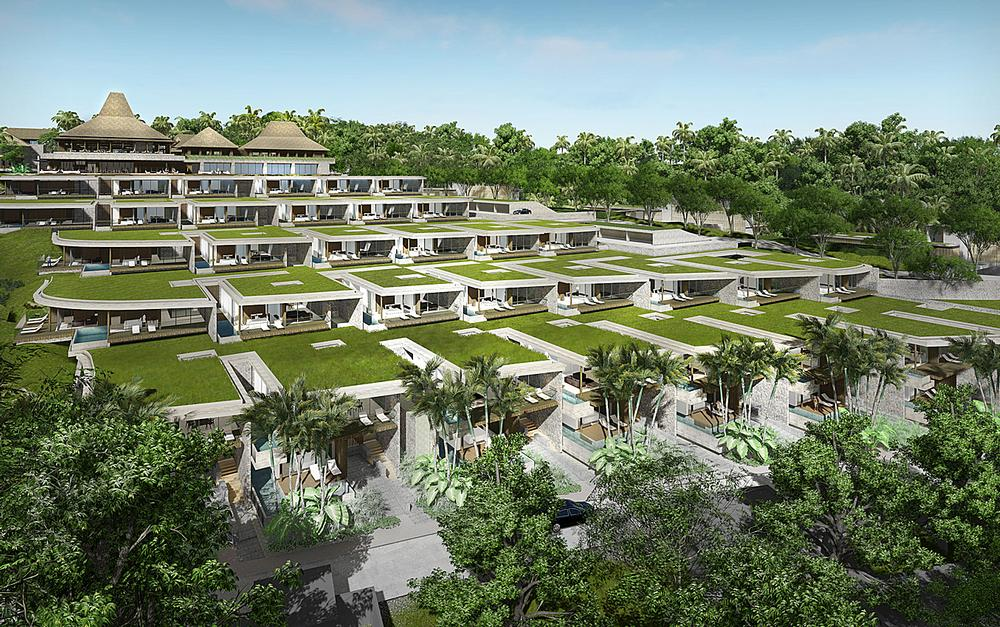 Wellness communities, such as GOCO's Retreat in Ubud, Bali, are often designed to green building standards