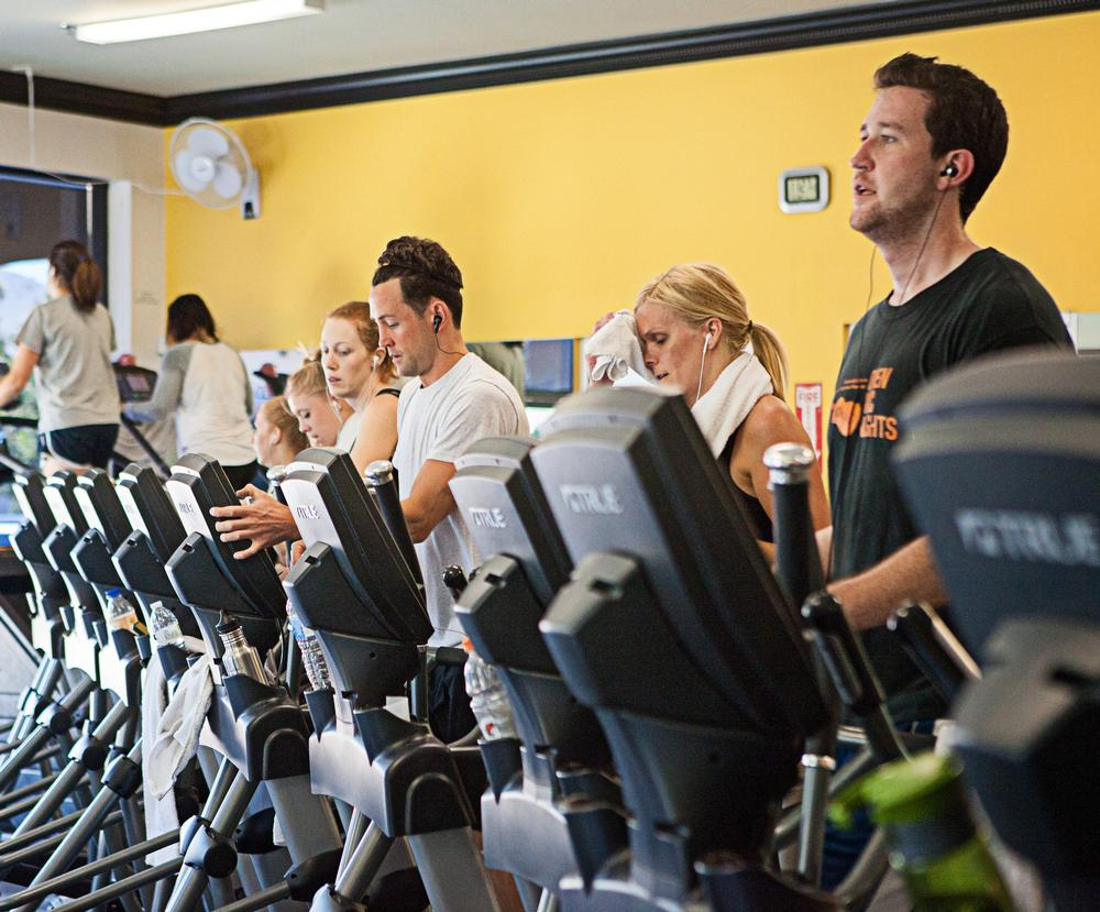 Members value interaction more when it's at the place where they exercise