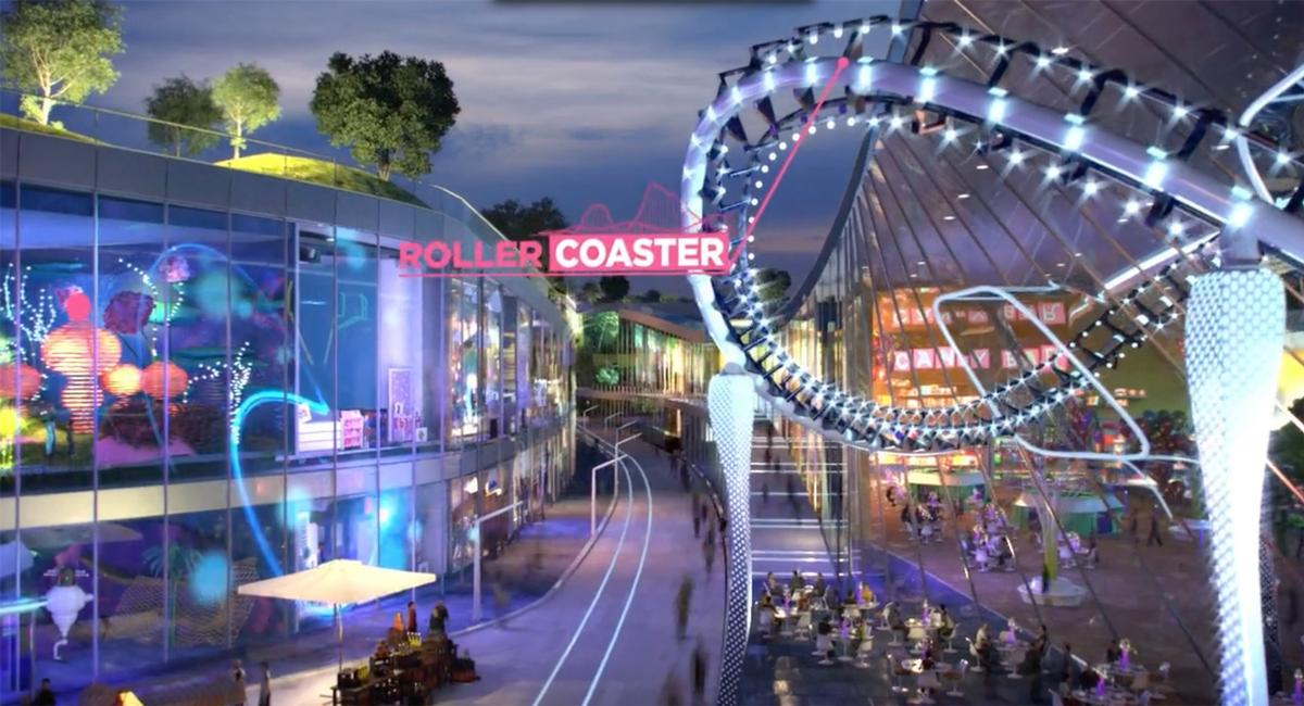 EuropaCity will include theme parks as part of its attractions offerings / BIG