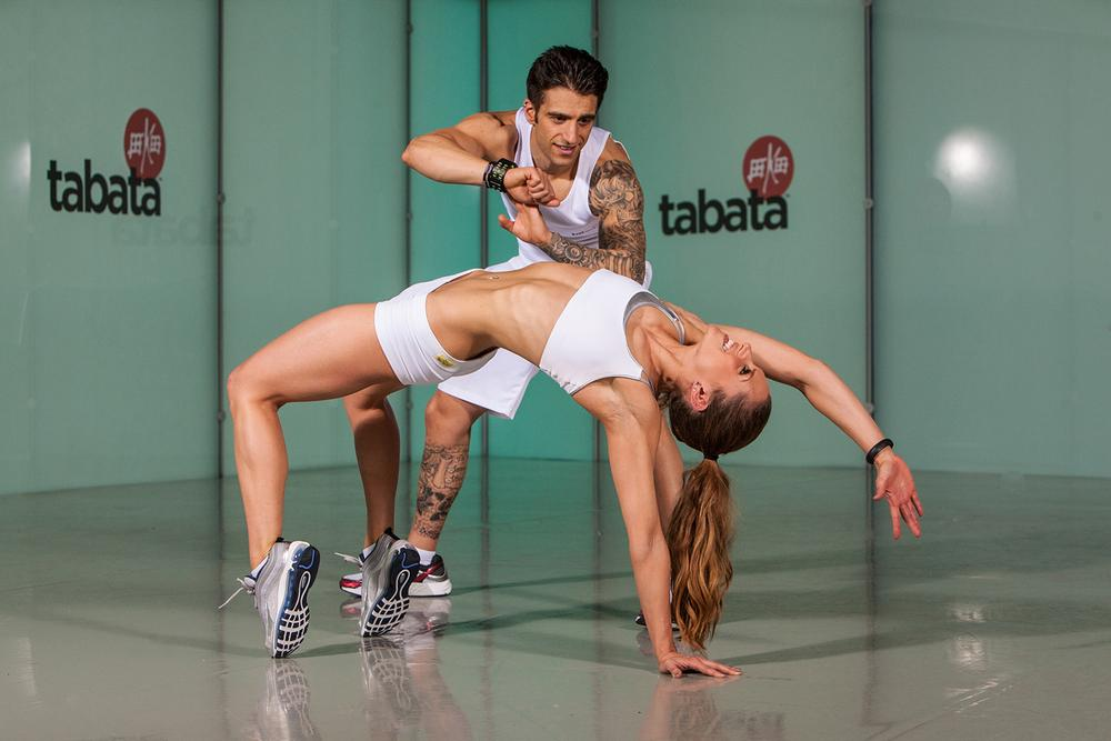 Tabata training (below) and CrossFit are making an impact