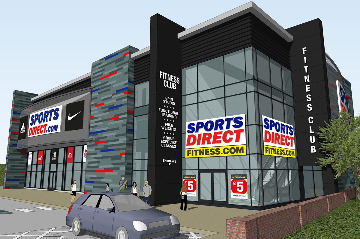 Sports Direct targets £5m gym and retail complex in former nightclub 9355b84a6b96