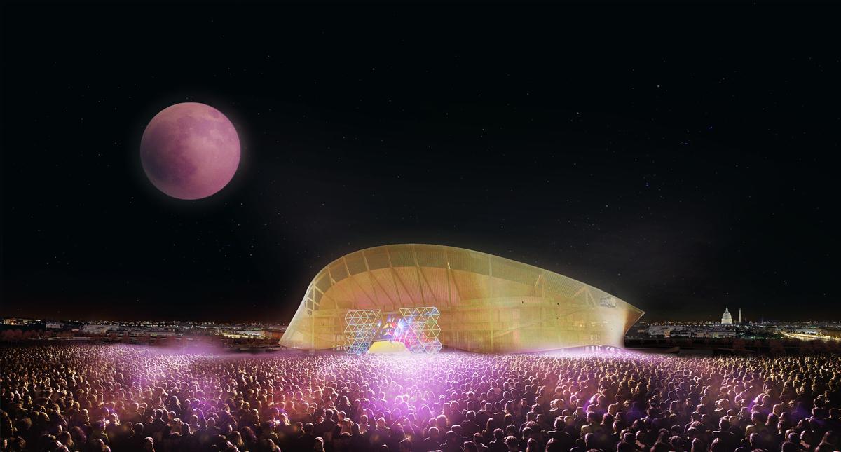 The Washington stadium is designed for use throughout the year / BIG