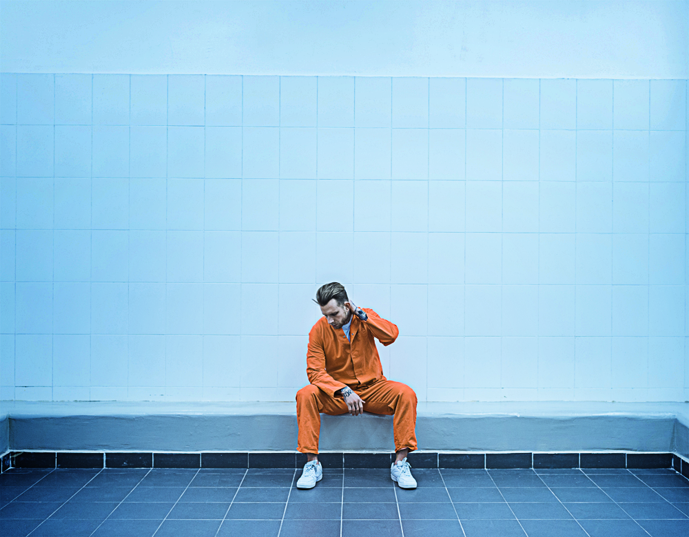 Pilot programmes have shown sport in prisons can get reoffending rates down from 70 per cent to six per cent / PHOTO: SHUTTERSTOCK.COM