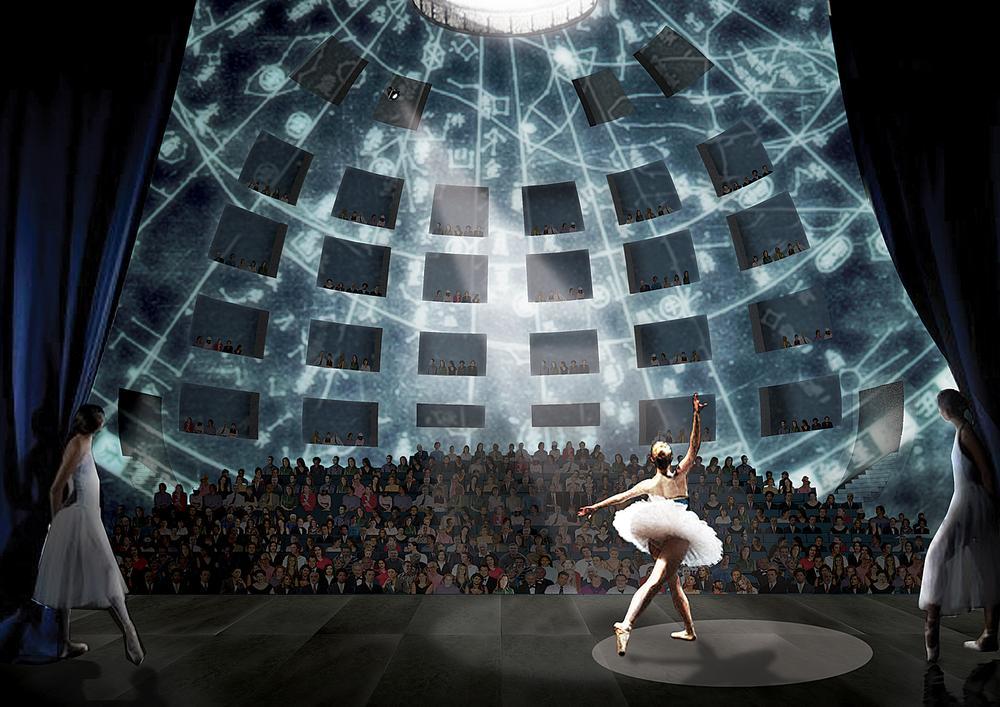 The Taipei Performing Arts Center interior