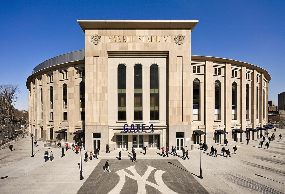 Santee says the Yankee Stadium, New York City captures the legacy of the Yankees / PHOTO: Esto Photographics
