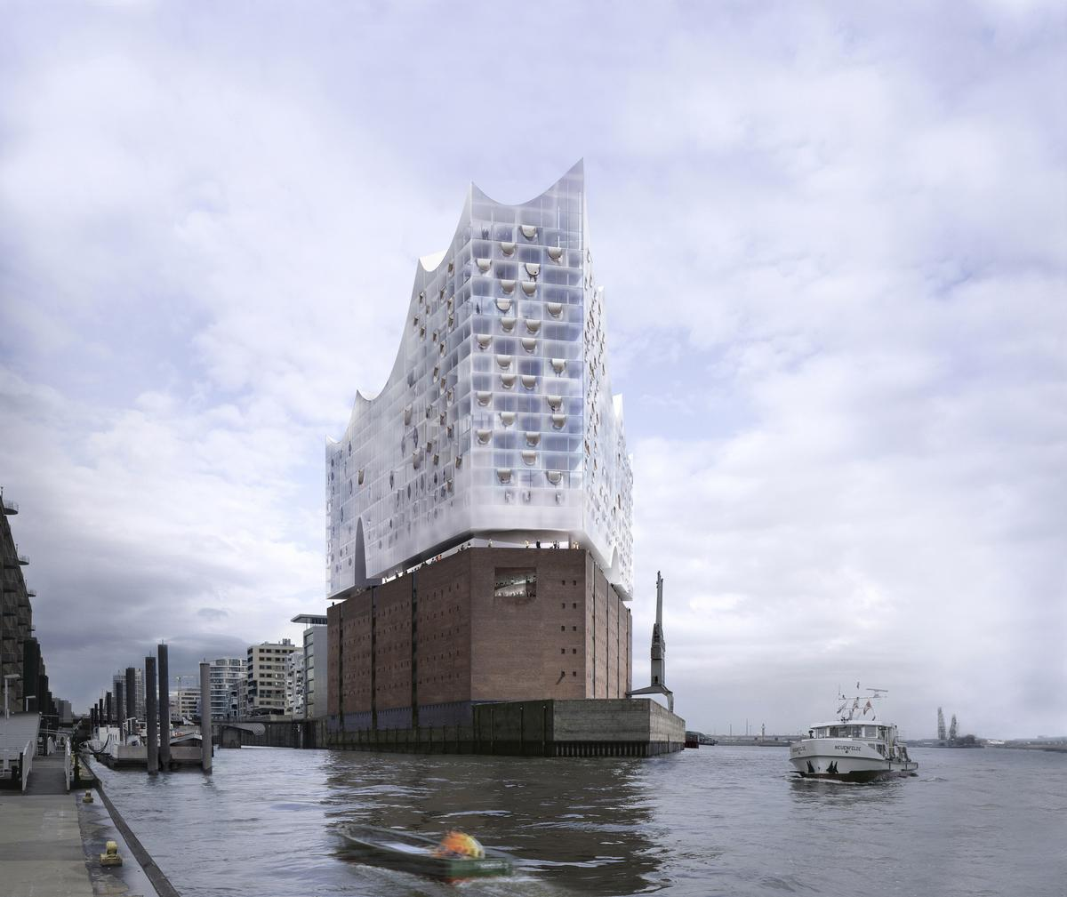 The Westin Hamburg will open next year in the highly anticipated Elbe Philharmonic complex / Elbe Philharmonic