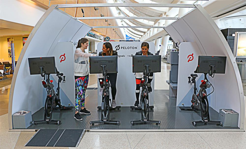Aeroplane manufacturer Airbus plans to develop onboard fitness pods