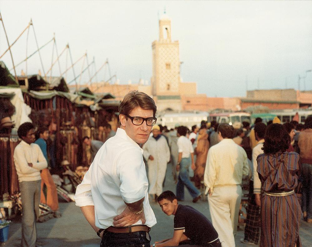 Saint Laurent was known for his love of Marrakech and was a regular visitor / Photo: © Reginald Gray