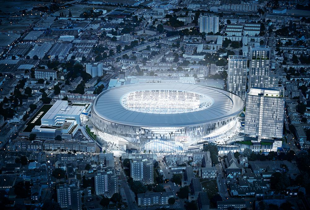 The new White Hart Lane stadium aims to connect with the local community / Image: Tottenham Hotspur