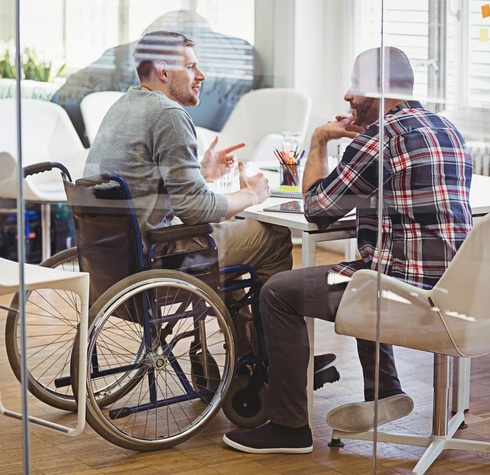 Employing talented people with disabilities in senior leadership roles will create a more representative health and fitness sector / Photo: SHUTTERSTOCK.COM