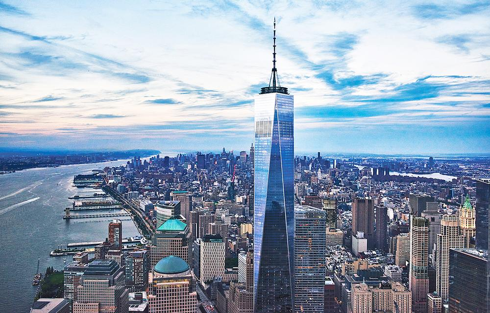New York is the city with the most 100-metre-plus buildings in the world (762)
