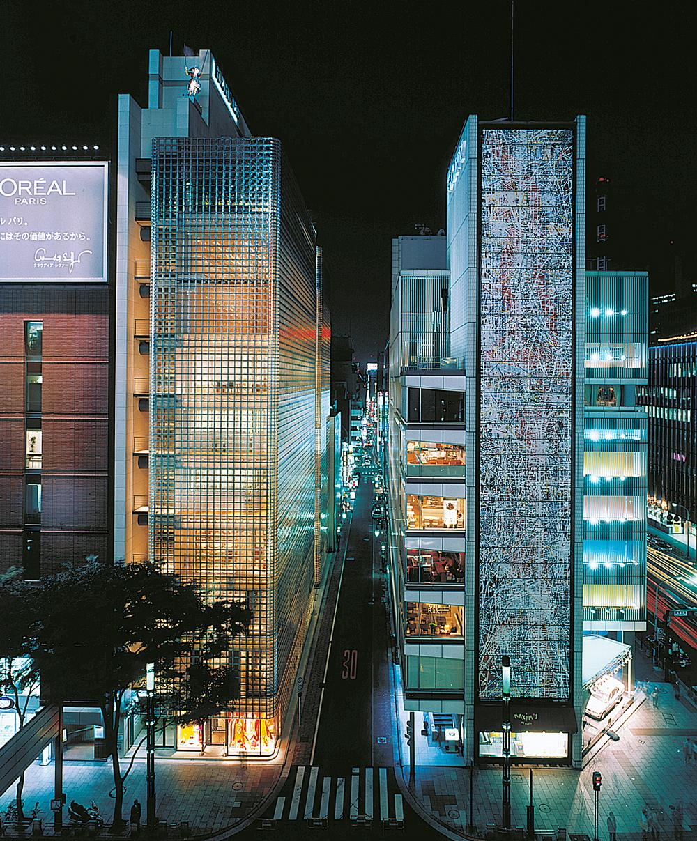 Renzo Piano was hired by Hermès to design the fashion house's Tokyo store