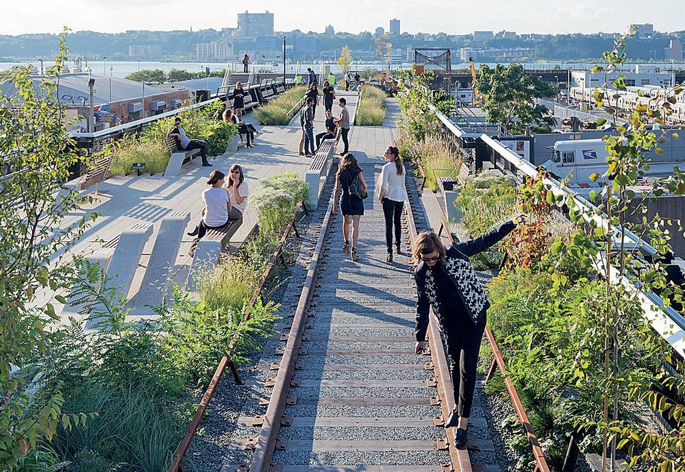 Creating places people love to be: High Line at the Rail Yards / FIELD OPERATIONS