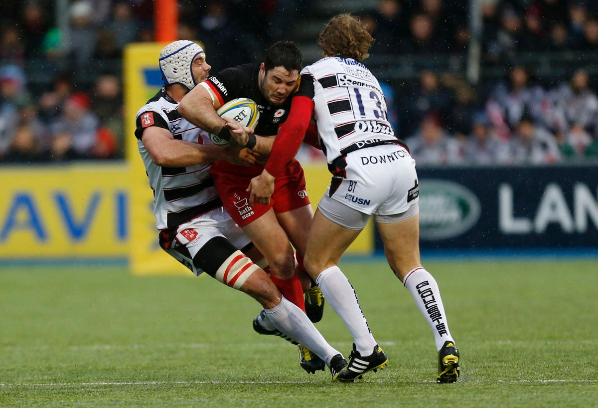 Saracens' Allianz Park is one if two Premiership stadiums with artificial turf / Press Associations