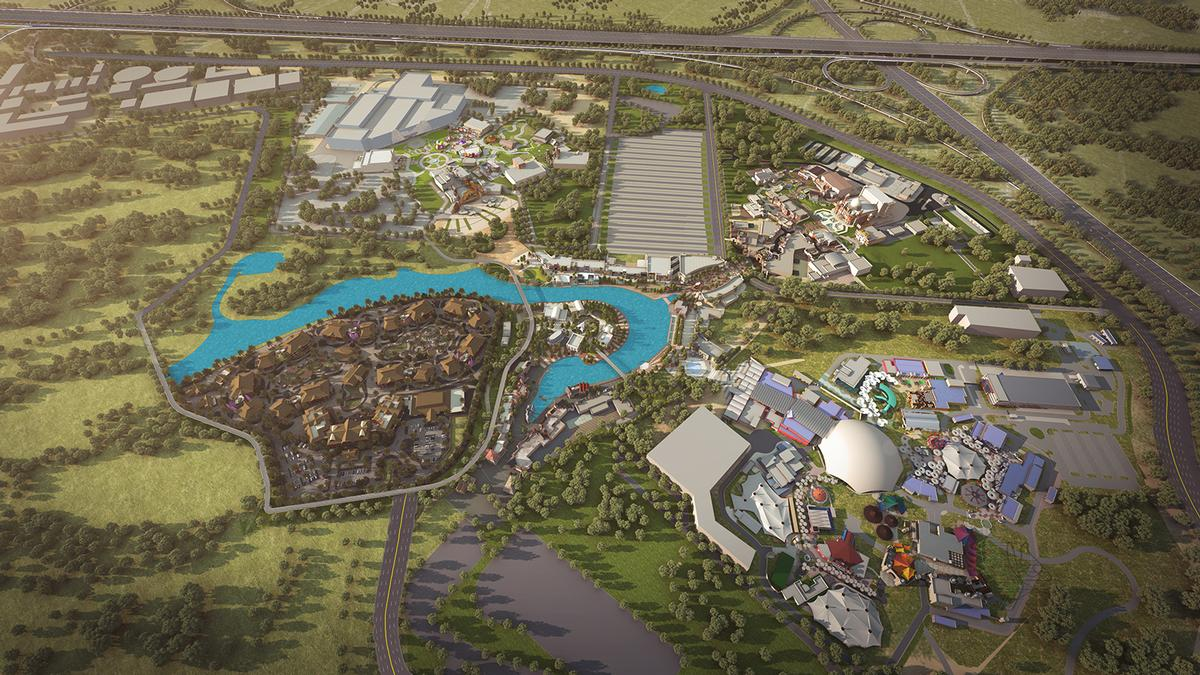 A Six Flags theme park might soon be part of Dubai Parks & Resorts masterplan / Dubai Parks & Resorts
