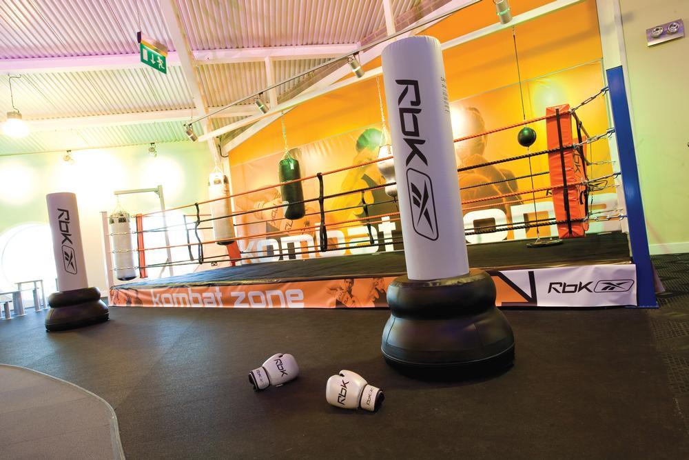 everroll® gym flooring in the Roko Health Club in Chiswick, UK