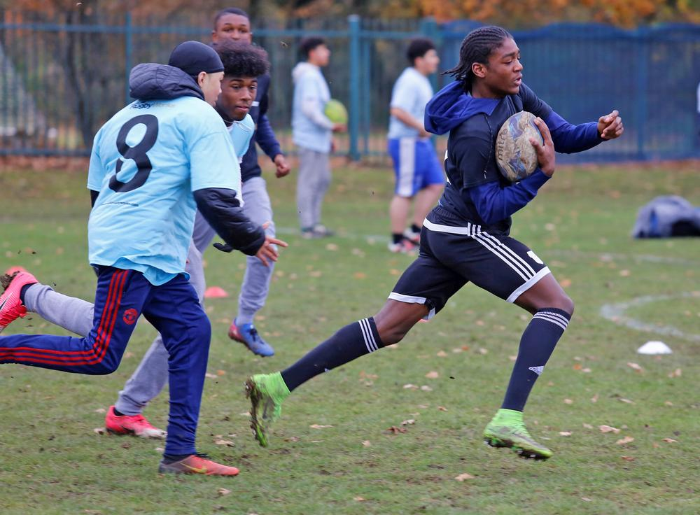 The programme brings young people together to form a supportive community