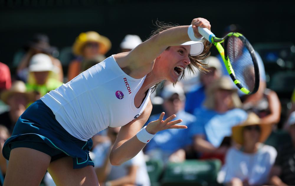 The success of Britain's Johanna Konta could result in more girls playing tennis / Press Association