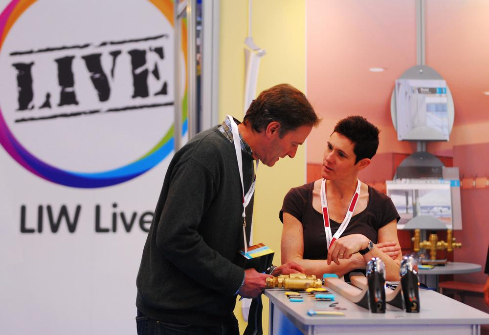 LIW will offer a number of demo areas alongside exhibitor stands