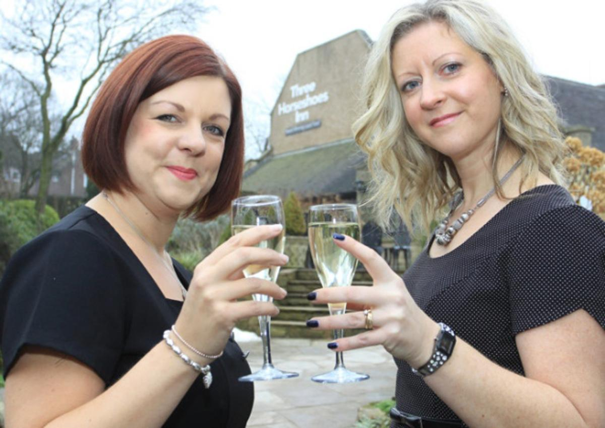 Katie and Wendy Kirk are two of the family team that manages the spa / buxtonadvertiser.co.uk