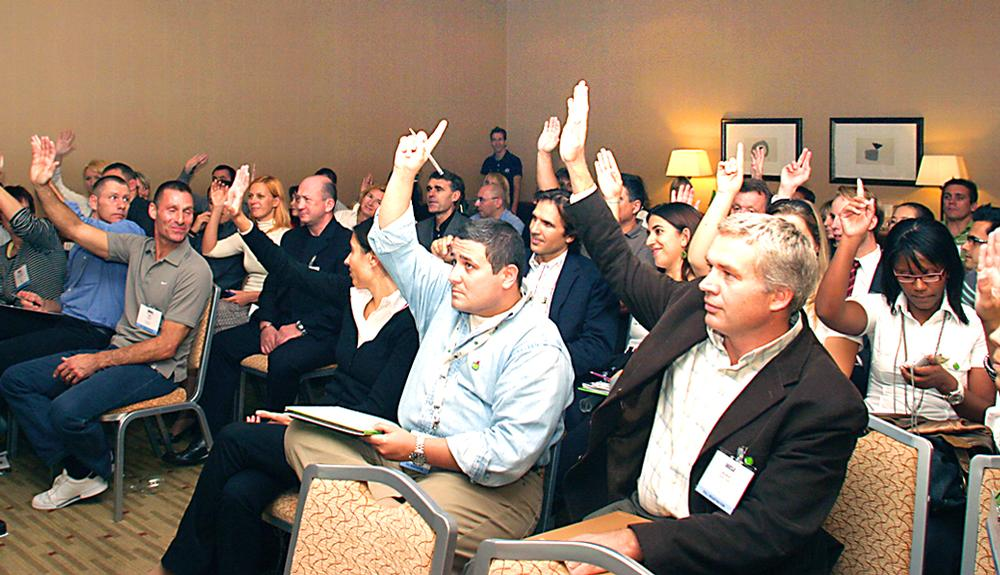 Congress talks, networking events and focus groups offer great opportunities to connect