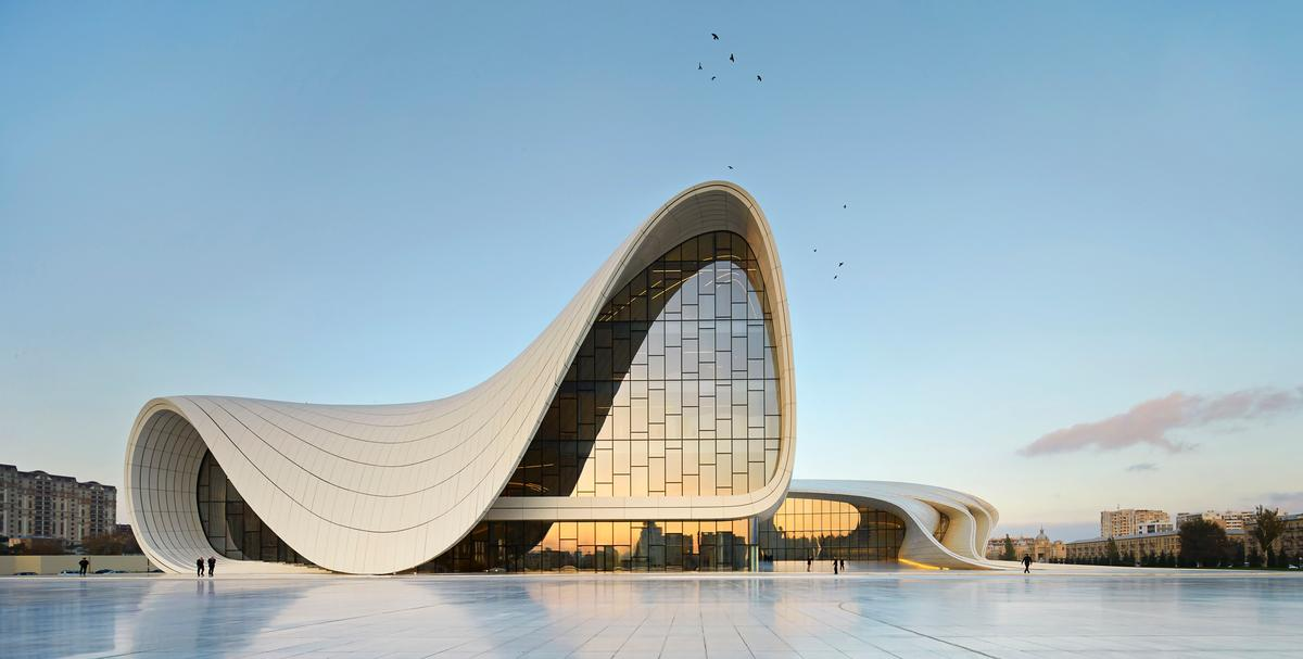 Heydar Aliyev Center, Baku / Hufton+Crow