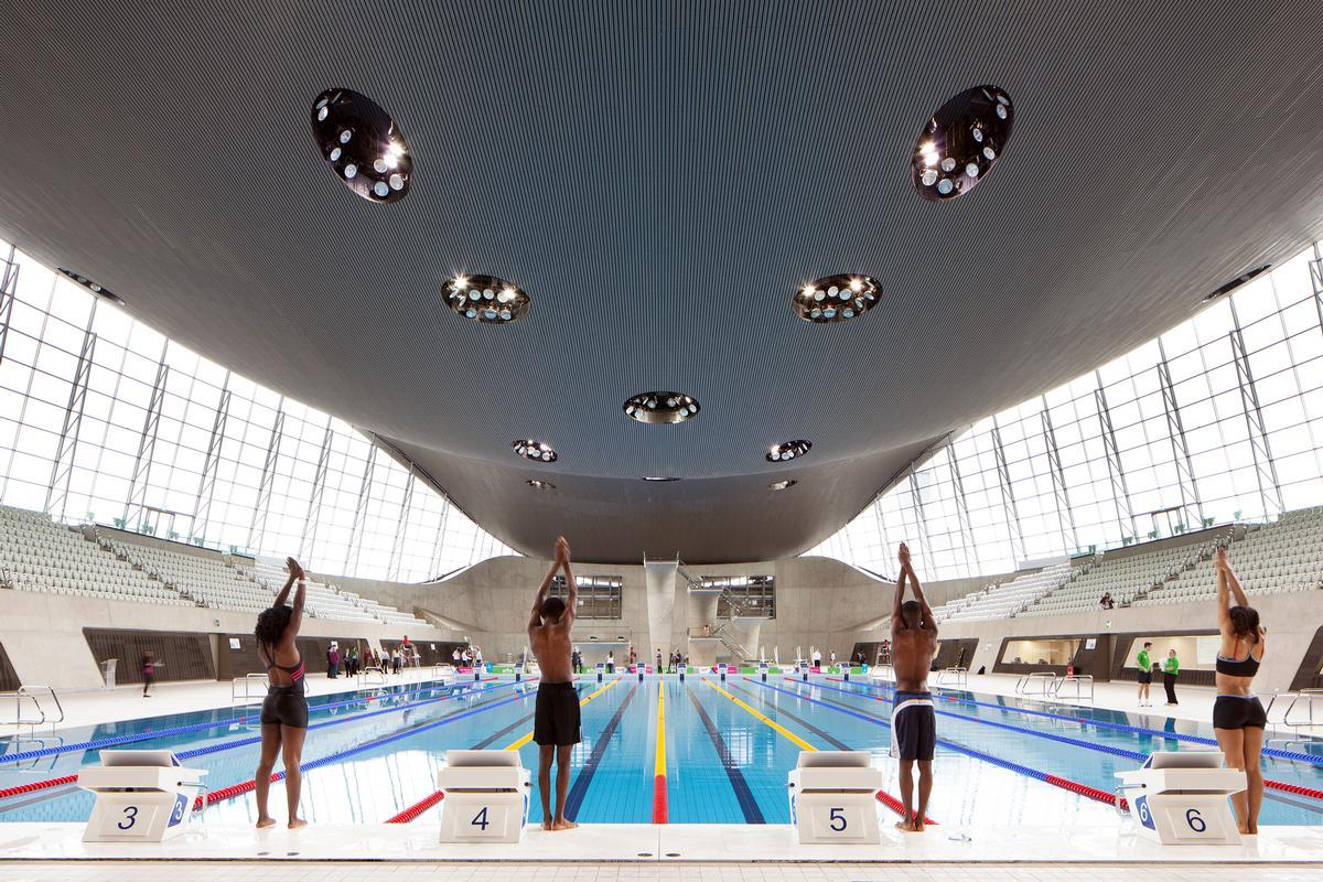 London Aquatics Centre / Luke Hayes