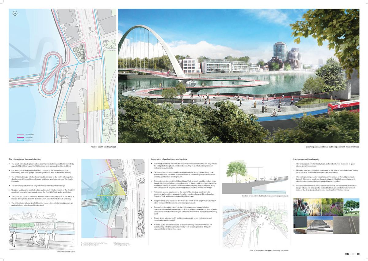 The entry from Ove Arup & Partners with AL_A, Gross Max, Equals Consulting and Movement Strategies