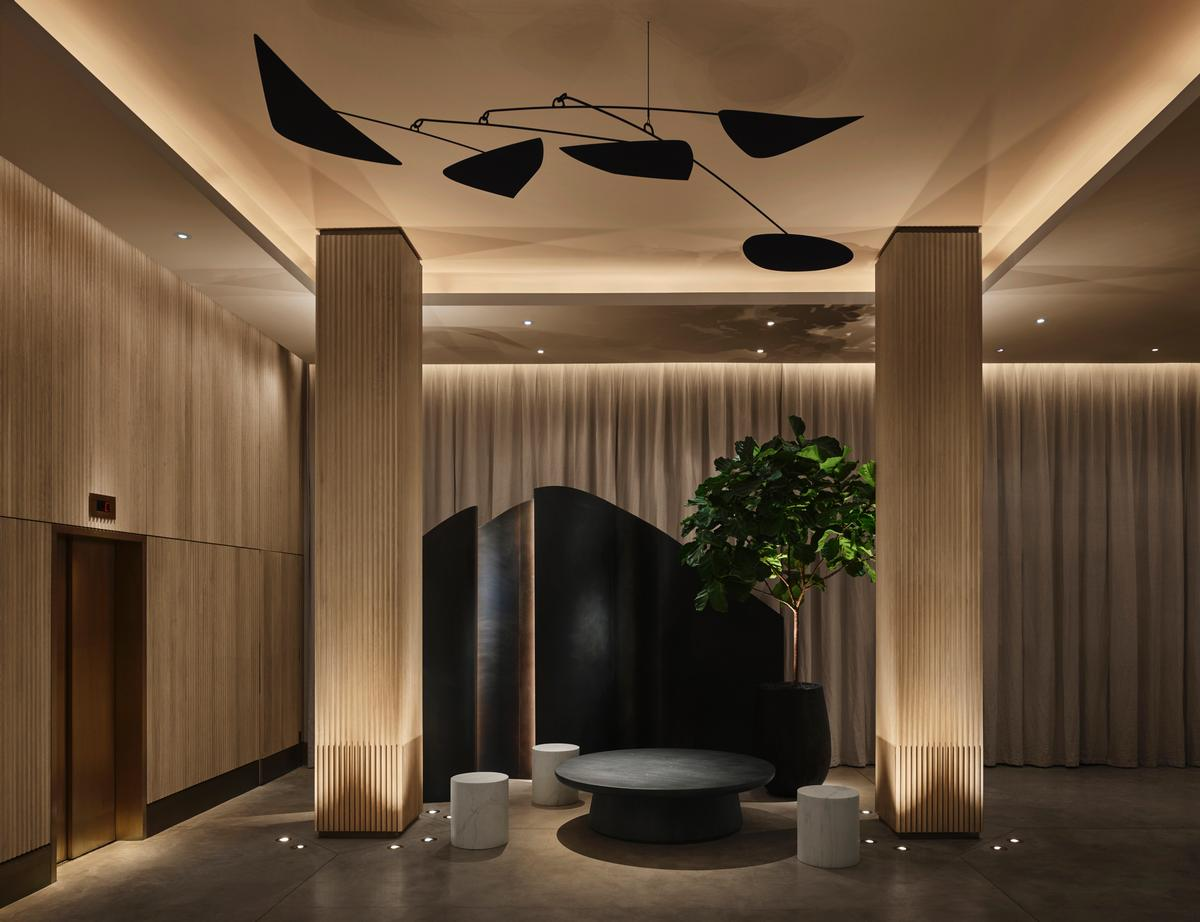 The designers said: 'The building's goal is to endure, and even to improve with time. It'll never feel dated'  / Design Hotels