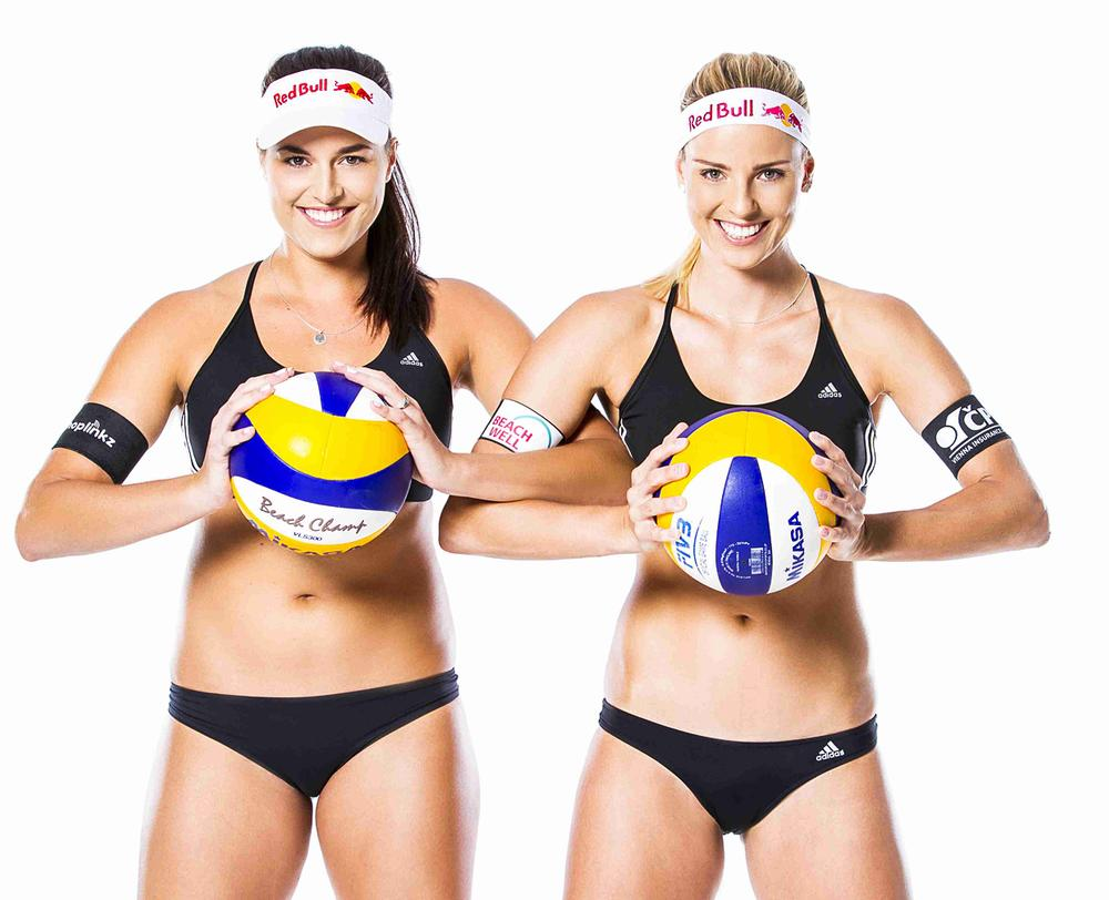 Czech beach volleyball legends Barbora Hermannová and Marketa Slukova are helping to raise the profile of the sport and encourage participation