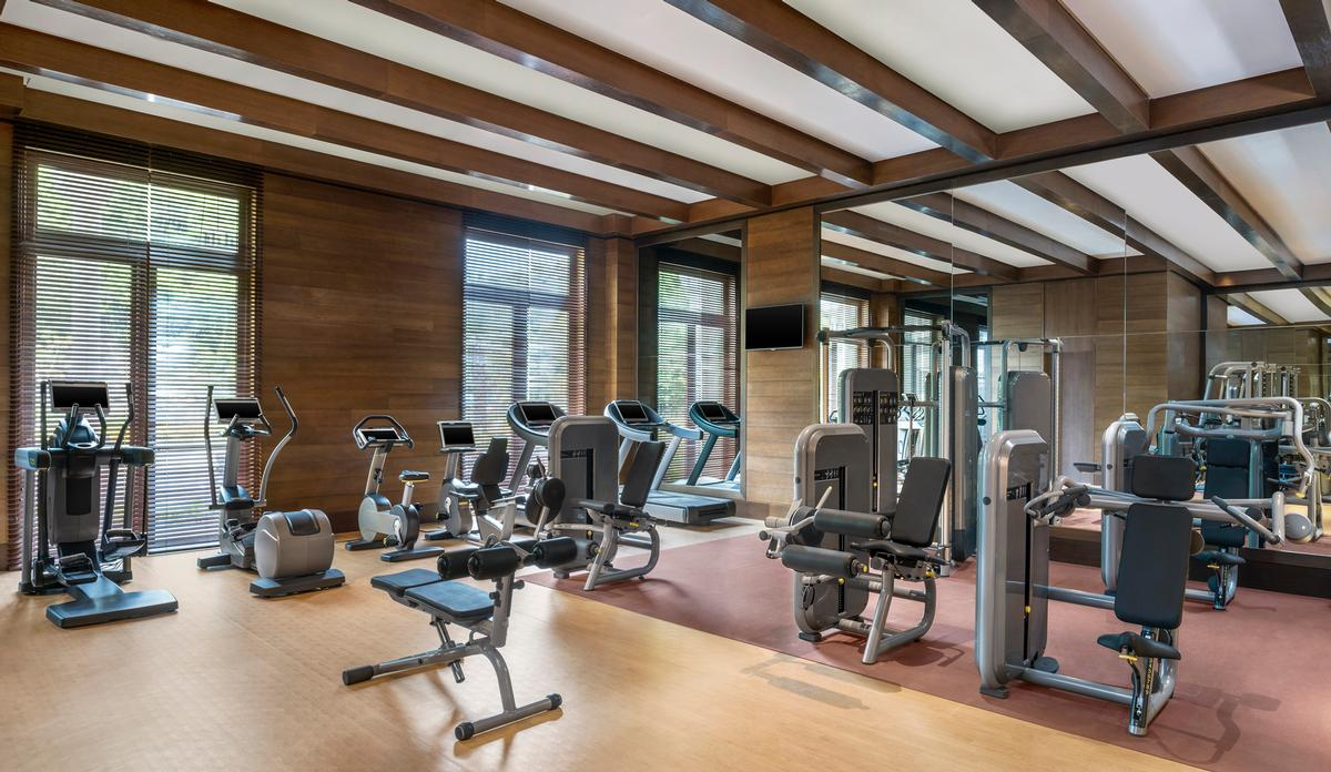 The resort includes a St. Regis Athletic Club / St Regis