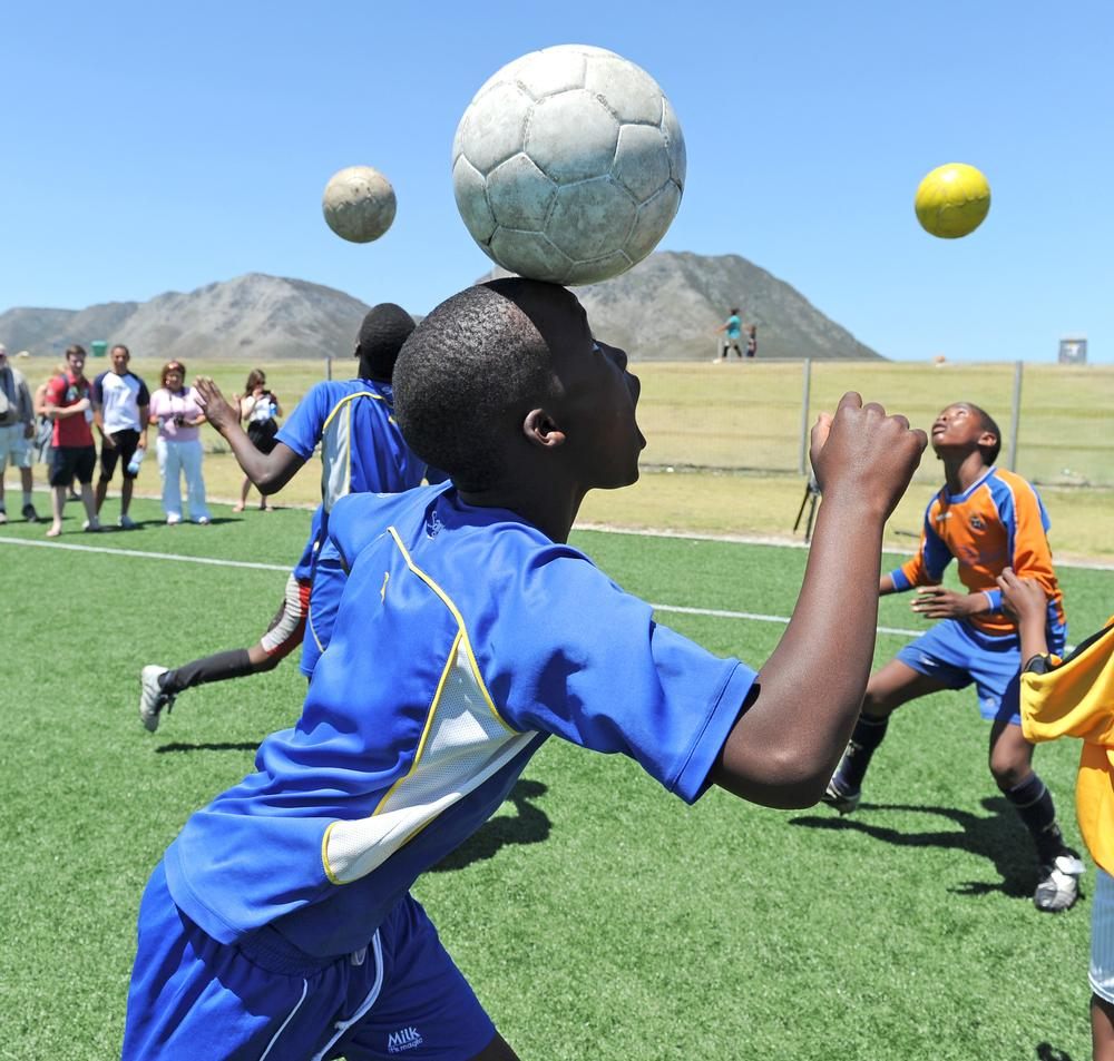 Harnessing the power of sport to help shape communities across the world