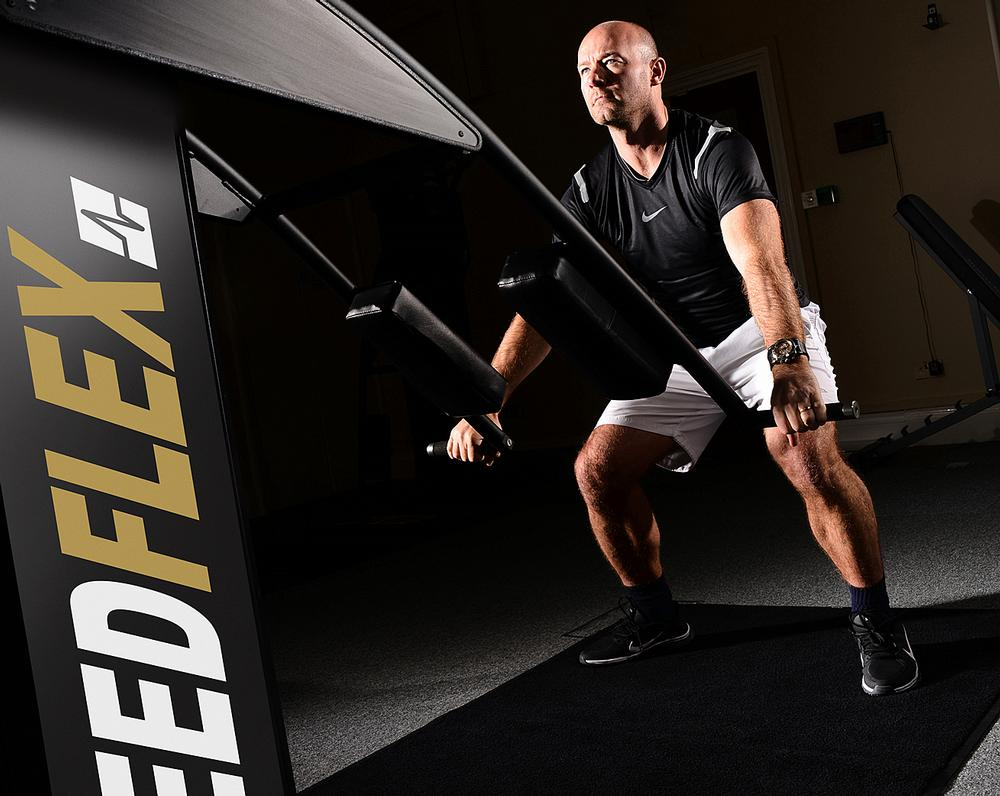 Speedflex is a 'low impact, high intensity' piece of equipment