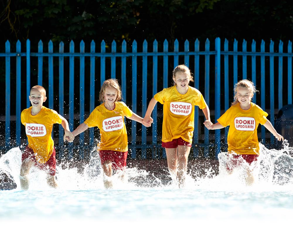 The Rookie Lifeguard scheme aims to retain children after learn-to-swim programmes