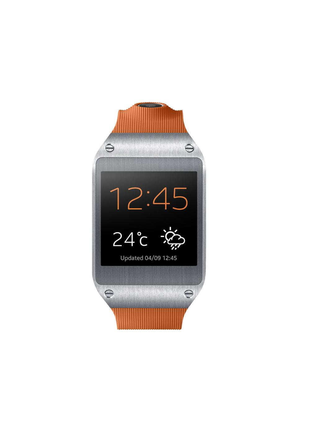 Samsung's  new Galaxy Gear has  already been released to consumers  for purchase
