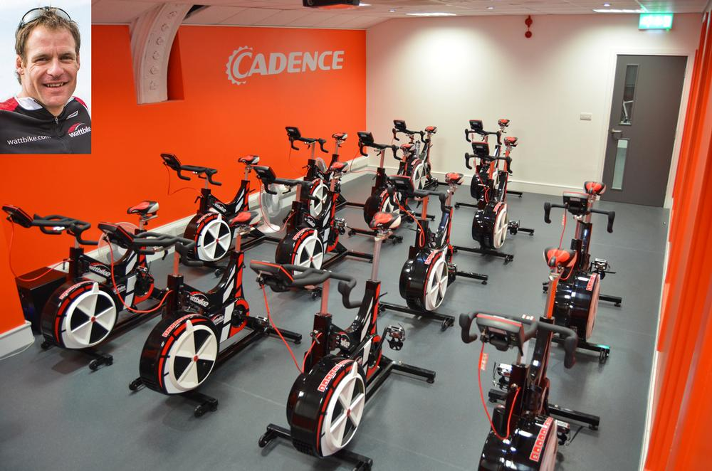 Commercial director Richard Baker - Recent installation of a Wattbike Studio at Cadence Performance in London